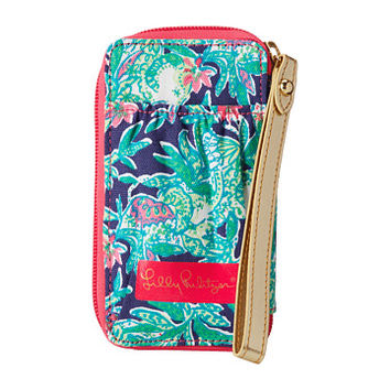 Lilly Pulitzer Carded ID Smart Phone Wristlet Bright Navy - Zappos.com Free Shipping BOTH Ways