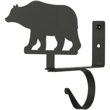Wrought Iron Curtain Shelf Brackets (Set of 2)
