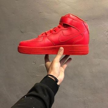 DCCKUN7 Nike Air Force 1 Mid '07 Classic Leather Sneakers