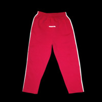 standard logo track pants in red
