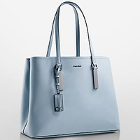 galey saffiano leather metro carryall | Calvin Klein