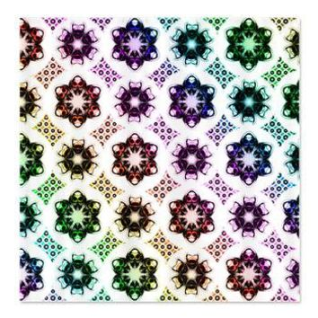Rainbow Alien Eye Fractal Shower Curtain> Rainbow Fractal Art Gifts> Hippy Gift Shop Funky Hippie Gifts