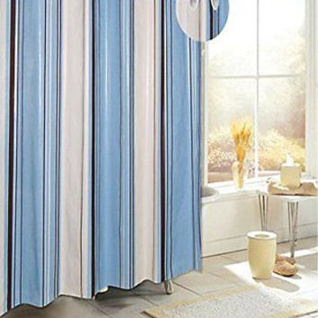 royal bath easy on peva shower curtain liner w built in hooks