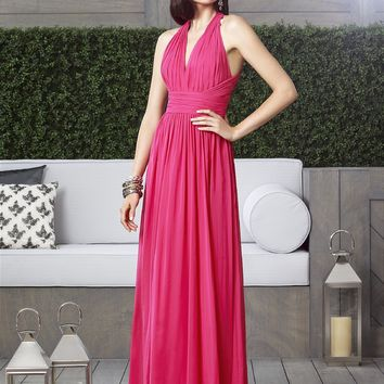 Dessy Collection Lux Chiffon Long Dress 2908