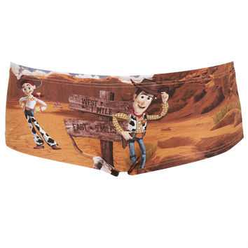 Woody and Jessie Cheeky Pants - Lingerie & Sleepwear - Clothing - Topshop USA
