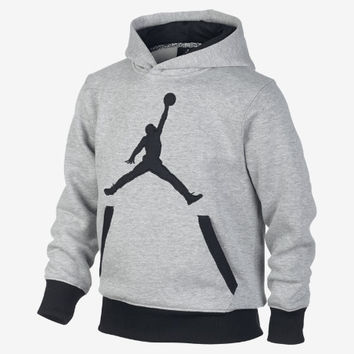 The Jordan Mesh Drop Pullover Boys' Hoodie.