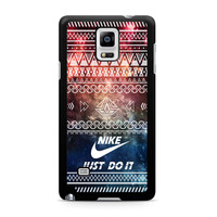 Nike Just Do It Aztec Space Samsung Galaxy Note 4 case