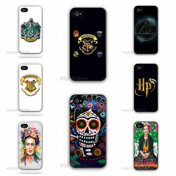 6S Plus Frida Kahlo Paintings Phone Cover for iPhone 6 Plus Skull Harry Potter Logo Case For Apple iPhone6 5.5""