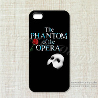 The Phantom of the Opera Design Phone Case for iPhone 5/5S - iPhone 4/4S - iPhone 5C