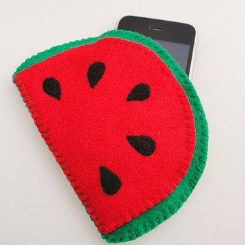 Juicy Red Watermelon Phone / Ipod / Mp3 Case
