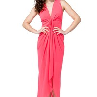 Knot Front Maxi