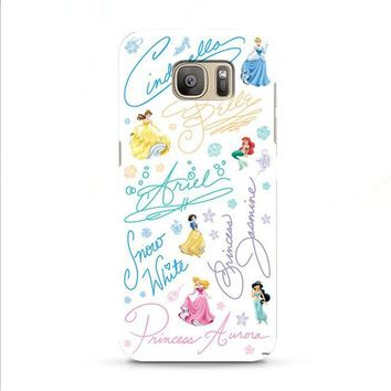 Disney Princess Sign Samsung Galaxy J7 2015 | J7 2016 | J7 2017 case