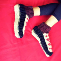 Sherpa Socks Wool Slippers Adult Booties Winter Accessories Thanksgiving Gift Christmas Gift Birthday Gifs Wool Socks