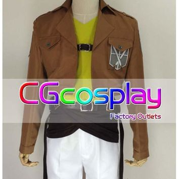 Cool Attack on Titan Hot Sale! Cosplay Costume Japanese anime  no  Conny Springer Cosplay Christmas Party AT_90_11