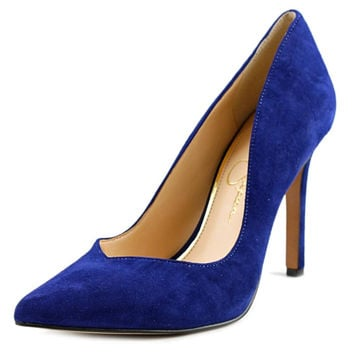 Jessica Simpson Pointed Toe Suede  Heels