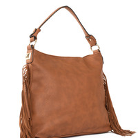 Forever Fringe Purse - Tan