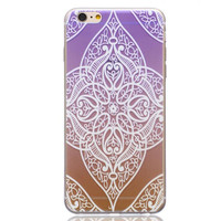 Unique Lace Hollow Out Case Cover for iPhone 5s 5se 6s Plus Free Gift Box 44