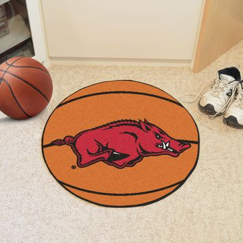 "Arkansas Basketball Mat 27"" diameter"
