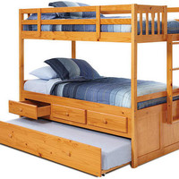 Highlands Honey Combo Bunk Beds