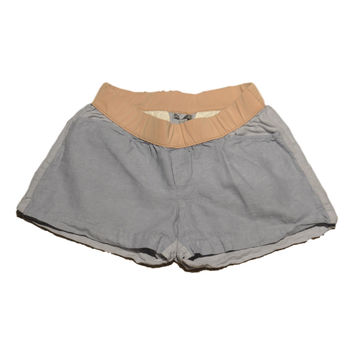 Blue Linen Shorts by GAP