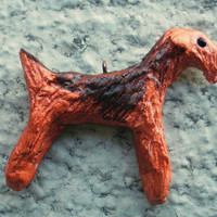 Airedale / Welsh Terrier Dog Pendant