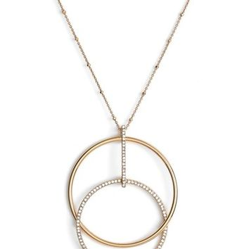 kate spade new york 'ring it up' pendant necklace | Nordstrom