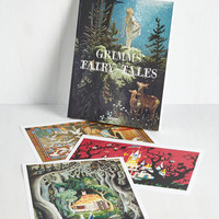 Fairytale Future Is Grimm Print Set by ModCloth