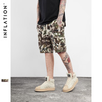 Summer Fashion Tshirt Camo Shorts Men Military Style Camouflage Shorts Cotton Sweatpants Streetwear