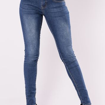 Ivor Skinny Jeans - Dark Denim
