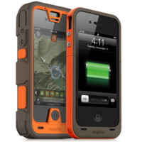mophie juice pack PRO® outdoor EDITION iPhone 4 & 4S Battery Case