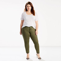 711 Ankle Skinny Jeans (plus Size) - Green   Levi's® US