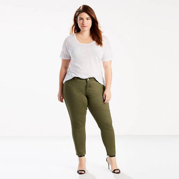 711 Ankle Skinny Jeans (plus Size) - Green | Levi's® US