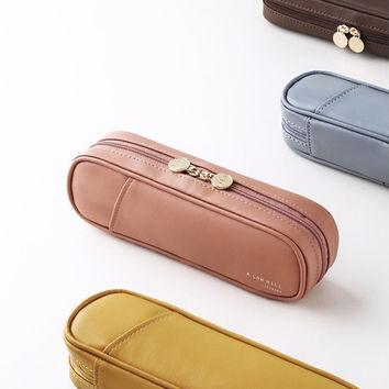 A low hill basic pocket zip around pencil case