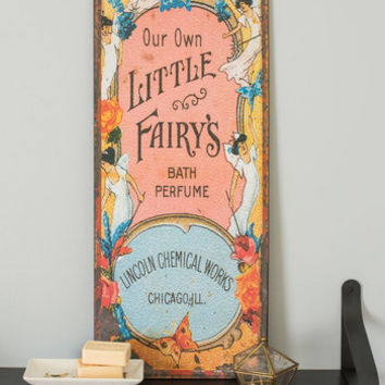 Fairy Home Companion Sign | Mod Retro Vintage Wall Decor | ModCloth.com