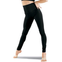 High Waist Ankle Length Matte Leggings - Balera