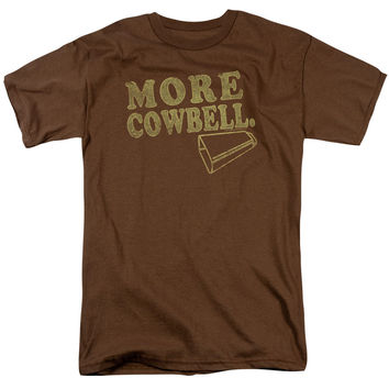Saturday Night Live Cowbell Coffee T-Shirt