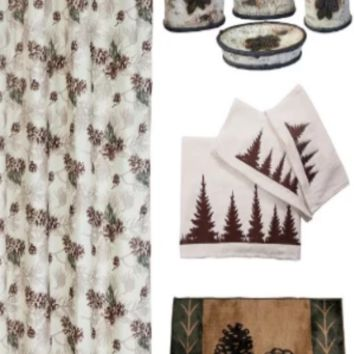 Cowgirl Kim Mossy Oak Forest Pine Bathroom Lifestyle Collection