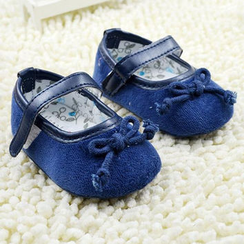 Cute Kids Baby Girls Shoes Soft Bottom Anti-slip Sneaker Prewalker Shoes NEW First Walkers NW