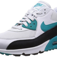 Nike Women's Air max 90 Essential Black/Blue/White Running Shoe 616730-017