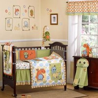 Dinos at Play Baby Crib Bedding by Cocalo