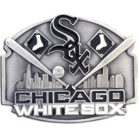 Chicago White Sox MLB Enameled Belt Buckle