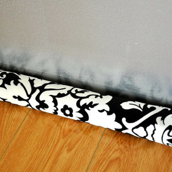 Velvet Damask Door Snake Door Draft Window snake Upholstery Fabric COVER ONLY Draught Excluder door draft stopper