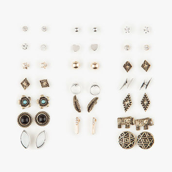FULL TILT 20 Pairs Elephant Gypsy Earrings | Earrings