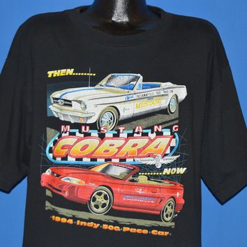 90s Mustang Cobra 1994 Indy 500 Pace Car t-shirt Extra Large