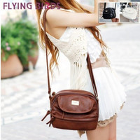 FLYING BIRDS! 2015 new casual all-match tassel zipper small bags women's handbag shoulder bag messenger bag LS1754 = 1753273988