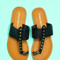 Young Horizon Sandal - Black