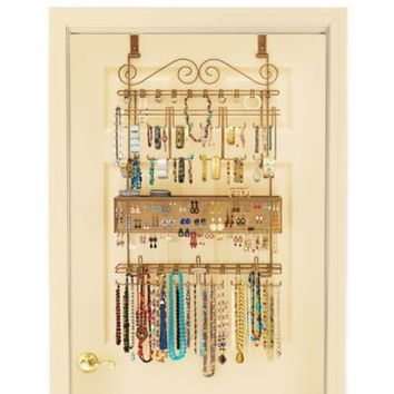 Longstem Over The Door Jewelry Organizer From Bed Bath