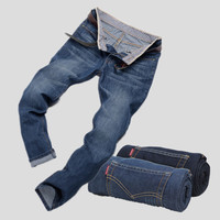 Summer Men's Fashion Casual Pants Plus Size Korean Men Denim Jeans [6528760259]