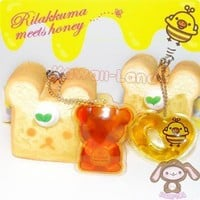 San-X Rilakkuma Meets Honey Squishy Bread