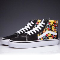 VANS X Simpson SK8-Hi Canvas Flats Sneakers Sport Shoes Day-First™